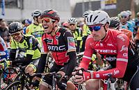 a relaxed Greg Van Avermaet (BEL/BMC) on the start grid<br /> <br /> 60th E3 Harelbeke (1.UWT)<br /> 1day race: Harelbeke &rsaquo; Harelbeke - BEL (206km)
