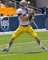 The Pittsburgh Panthers defeated the Delaware Blue Hens 62-0 on August 30, 2014 at heinze Field in Pittsburgh PA.