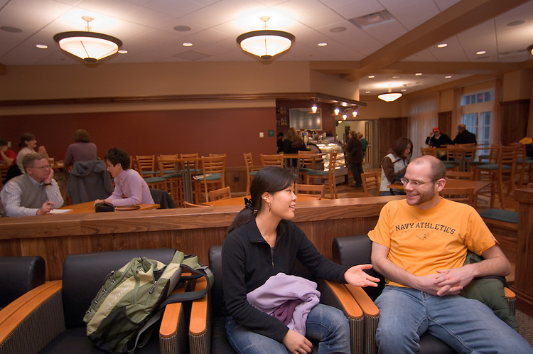 New Baker Center Interior Shots/students...Jon Freeman, Chizuko Sengoka