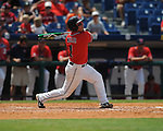 Mississippi's Zach Miller bats vs. South Carolina during the Southeastern Conference tournament at Regions Park in Hoover, Ala. on Wednesday, May 26, 2010. Ole Miss won 3-0.