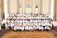 White Coat Ceremony, class of 2015. Group Photo.
