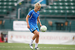 26 August 2011: Lori Lindsey. The Philadelphia Independence held a training session at Sahlen's Stadium in Rochester, New York the day before playing in the Women's Professional Soccer championship game.