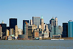 New York City, New York: Skyline of New York lower manhattan post 9-11.  .Photo #: ny220-14656  .Photo copyright Lee Foster, www.fostertravel.com, lee@fostertravel.com, 510-549-2202.