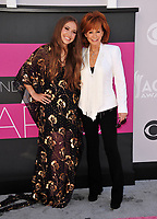 Reba McEntire &amp; Lauren Daigle at the Academy of Country Music Awards 2017 at the T-Mobile Arena, Las Vegas, NV, USA 02 April  2017<br /> Picture: Paul Smith/Featureflash/SilverHub 0208 004 5359 sales@silverhubmedia.com
