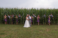 Anna & Butch's wedding at Anna's parent's farm in Newark, OH on August 2, 2014.