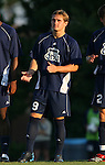2 September 2007: Old Dominion's Daniel Haywood (ENG) (9). The University of North Carolina Tar Heels tied the Old Dominion University Monarchs 1-1 at Fetzer Field in Chapel Hill, North Carolina in an NCAA Division I Men's Soccer game.