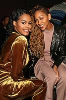 NEW YORK, NY - NOVEMBER 16: Teyana Taylor and Meagan Good at the Sixth Annual WEEN Awards at ESPACE on November 16, 2016. Credit: Walik Goshorn/MediaPunch