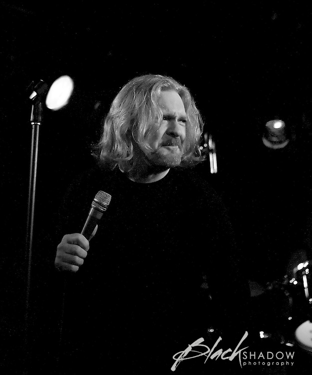 Billy Thorpe joins Rose Tattoo on stage at the Ian Rilen benefit show, Prince of Wales, Melbourne, 6 October 2006