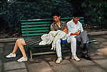 00221_13. People on a Bench, China, 1989.
