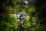 "Arden Sellers of Utah, in his character Uruvon, a dark elf, at a LARP event near Conifer, Colo...The Nero Empire Live Action Role Players (LARP) gather for a three day LARPING event in forest land outside of Conifer, Colo.  LARPING is a scenario-based event where participants create characters for themselves and participate in play based around that theme.  Characters form alliances, fight for common goals, and can be ""killed."""