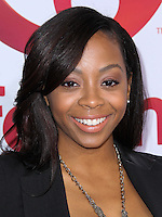 """HOLLYWOOD, LOS ANGELES, CA, USA - MAY 01: Bresha Webb at the Los Angeles Premiere Of Lifetime Television's """"Return To Zero"""" held at Paramount Studios on May 1, 2014 in Hollywood, Los Angeles, California, United States. (Photo by Xavier Collin/Celebrity Monitor)"""