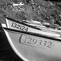 Fishing Dories, Avalon Peninsula, Newfoundland, Canada