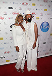 CLAIRE SULMERS and TY HUNTER Attend Kia STYLE360 Hosts Official Serena Williams Signature Statement Collection by HSN After-Party Held at <br />