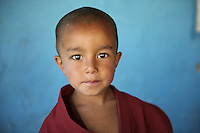 Monk in Ladakh, India, 2010