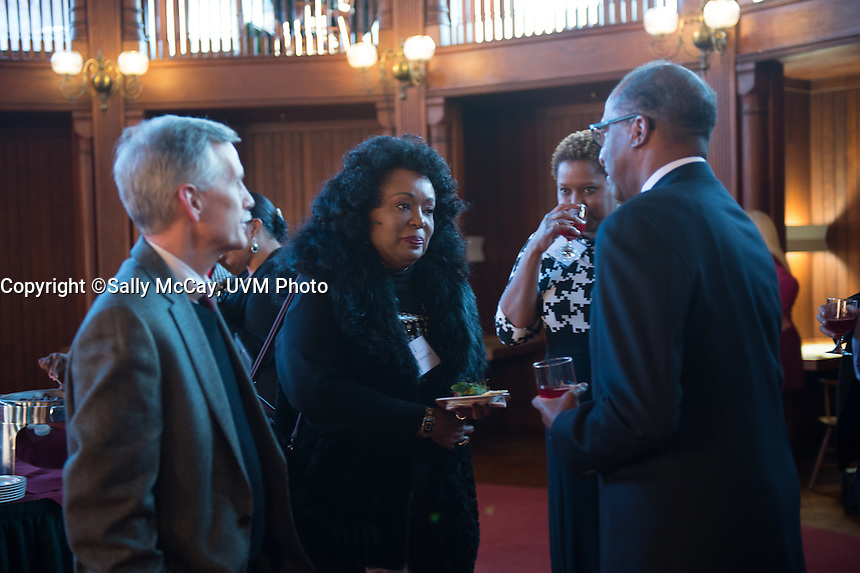 Wil Haygood MLK event reception