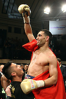 Yassine El Maachi defeats Junior Witter in the Final of Prizefighter The Welterweights II at York Hall, promoted by Matchroom Sports - 07/06/11 - MANDATORY CREDIT: Gavin Ellis/TGSPHOTO - Self billing applies where appropriate - Tel: 0845 094 6026