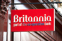 Britannia Bank Sign - Aug 2013.