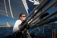 13th October 2011. Extreme Sailing Series 2011 - Act 8. Almeria. Spain..