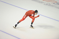 SPEEDSKATING: CALGARY: Olympic Oval, 25-02-2017, ISU World Sprint Championships, 1000m Men, Håvard Holmefjord Lorentzen (NOR), ©photo Martin de Jong