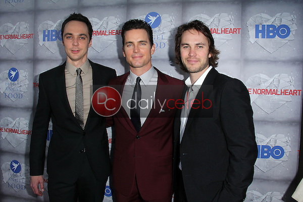 Jim Parsons, Matt Bomer, Taylor Kitsch<br /> at the HBO Premiere of &quot;The Normal Heart,&quot; WGA Theater, Beverly Hills, CA 05-19-14<br /> David Edwards/DailyCeleb.com 818-249-4998