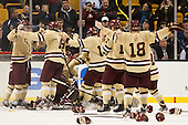 - The Boston College Eagles defeated the Northeastern University Huskies 6-3 on Monday, February 11, 2013, at TD Garden in Boston, Massachusetts.
