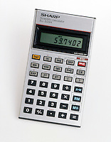 SCIENTIFIC CALCULATOR READS 59.7402<br /> Liquid Crystal Display (LCD)<br /> (Variations Available)<br /> The least accurate part of the input to a problem will determine the accuracy of the final result and the number of significant figures in the answer.