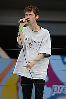FLUSHING NY- AUGUST 26: Troye Sivan performs during rehearsals for Arthur Ashe kids day at the USTA Billie Jean King National Tennis Center on August 26, 2016 in Flushing Queens. Photo byMPI04 / MediaPunch