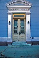 Cienfuego Cuba The Colegio de Santo Tomas, Republic of Cuba, , pictures of front door entrances