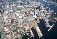 1996 May 28..Redevelopment.Downtown West (A-1-6)..LOOKING EAST.FREEMASON HARBOR IN FOREGROUND...NEG#.NRHA#..