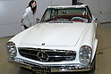 May 22, 2010 - Tokyo, Japan - A vintage Mercedes-Benz 250 SL Automatic is on display during the 'Tokyo Nostalgic Car Show' held at the Tokyo Big Sight Exhibition Center, in Tokyo, Japan on May 22, 2010. This year marks the 20th anniversary of the show's existence.