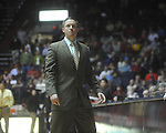 "Ole Miss assistant coach Michael White at C.M. ""Tad"" Smith Coliseum in Oxford, Miss. on Saturday, December 4, 2010."