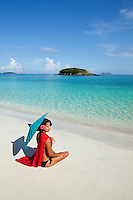 Alexa Putnam.Cinnamon Bay.Virgin Islands National Park.St. John, U.S. Virgin Islands