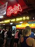Rudy's, Landmark BBQ restaurant in Austin, Texas, USA