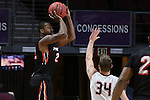 Pacific 1617 BasketballM 1stRound vs PEP
