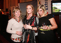Repro Free from left to right: Ivana Rosa Gran Canaria Tours, Kerstin Pace Weston Dublin and Sharon plunkett Plunkett Pr Travel Extra,Travel Journalist of the Year Awards at the Thomas Prior House Ballsbridge. The event which was sponsored by The Spanish Tourist board gave out 12 awards for different catagories. This year saw a huge increase in the number of submissions from previous years, displaying the creativity and continuning innovation of travel and tourism journalism in Ireland. Collins Photos 25/1/13