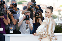 "Lily Collins at the ""Okja"" photocall during the 70th Cannes Film Festival at the Palais des Festivals on May 19, 2017 in Cannes, France. Credit: John Rasimus /MediaPunch ***FOR USA ONLY***"