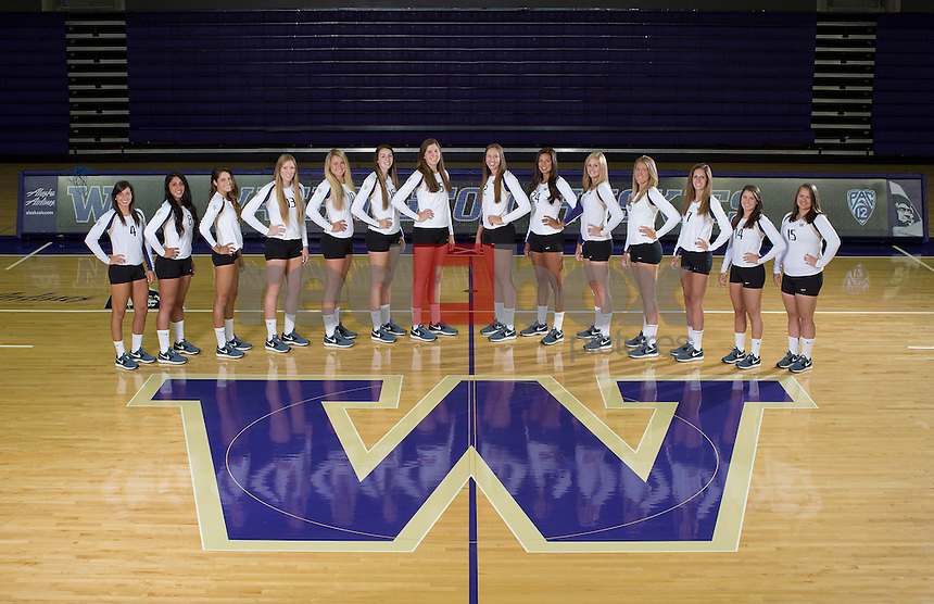 2013-14 University of Washington volleyball team | Huskies Photo Store | Red Box Pictures