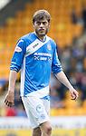 St Johnstone v Celtic&hellip;20.08.16..  McDiarmid Park  SPFL<br />Murray Davidson<br />Picture by Graeme Hart.<br />Copyright Perthshire Picture Agency<br />Tel: 01738 623350  Mobile: 07990 594431