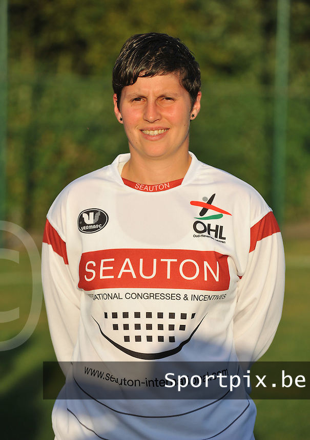OHL Oud Heverlee Leuven Dames : Kelly Paulus.foto DAVID CATRY / Vrouwenteam.be