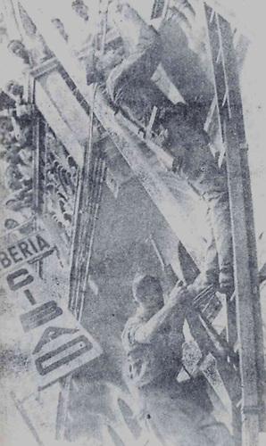 Los militares desplegaron una gran represion