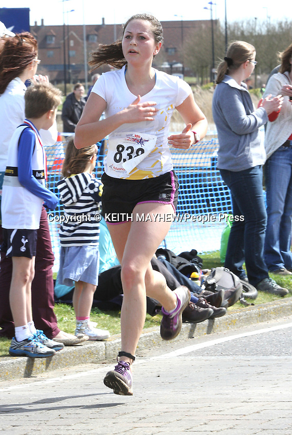 Cambourne nr Cambridge - Cambourne 10k Road Race and Fun Run held at Cambourne Business Park. <br />