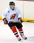 Sergei Brylin takes part in the  first session on Saturday, September 15, 2007 of the New Jersey Devils training camp on Rink 2 of the Richard E. Codey Arena at South Mountain in West Orange, New Jersey...