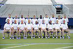 Coaching staff at UK Football Media Day on Friday, August 3, 2012. Photo by Mike Weaver| Staff