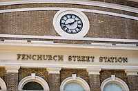 Fenchurch Street Station, London, Brutain - Apr 2014