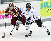 Teddy Doherty (BC - 4), John Gilmour (PC - 3) - The Providence College Friars tied the visiting Boston College Eagles 3-3 on Friday, December 7, 2012, at Schneider Arena in Providence, Rhode Island.