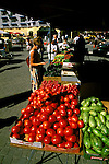CA, Oakland 11-04: Farmers market, Jack London Square, model released  .Photo Copyright: Lee Foster, lee@fostertravel.com, www.fostertravel.com, (510) 549-2202.Image: caoakl304