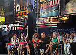 June 15 , 2012 Patricia Field, Lauren Graham, Nina Garcia, Michael Kors, Heidi Klum at Project Runway's 10th Anniversary Kick-Off at Times Square in New York City. © RW/MediaPunch Inc.
