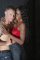 Interracial themed images for romance novel book covers by Jenn LeBlanc for Illustrated Romance and #StudioSmexy