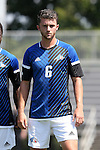 28 August 2016: UNC Asheville's Grady Bradshaw. The Duke University Blue Devils hosted the University of North Carolina Asheville Bulldogs at Koskinen Stadium in Durham, North Carolina in a 2016 NCAA Division I Men's Soccer match. Duke won the game 5-1.