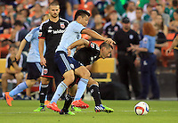 Washington,D.C. - Saturday, May 09 2015: DC United and Sporting KC played to a 1-1 tie in a MLS match at RFK Stadium..